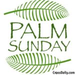 Palm Sunday walk between the churches